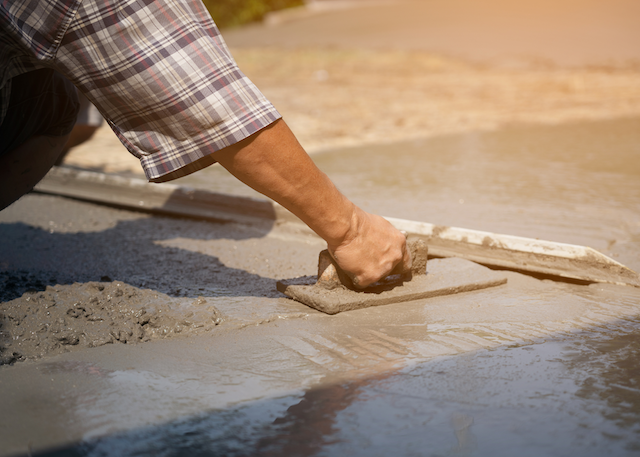 concrete pour spokane
